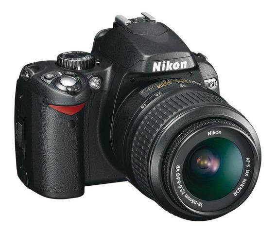 Nikon D60 C/ 3.000 Cliques Lentes 18-55mm