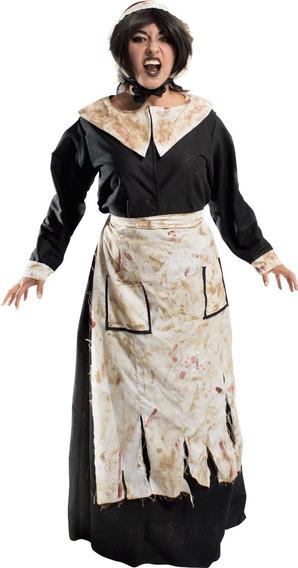 Disfraz Bruja Monja Mujer Asesina Siniestra Halloween