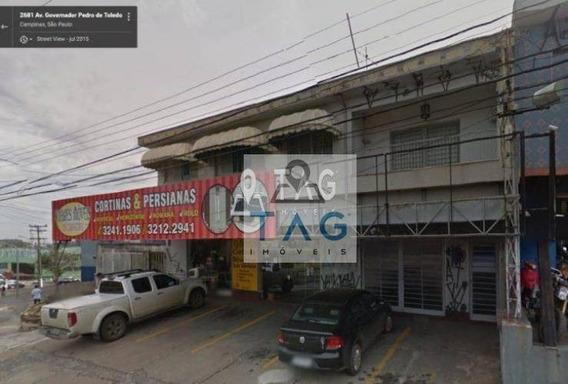 Imóvel Comercial À Venda Na Av Gov Pedro De Toledo, Campinas/sp. - Ca0045