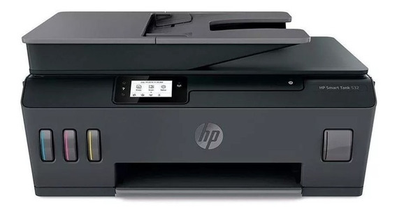 Impressora Multifuncional Hp Smart Tank 532 5hx16a