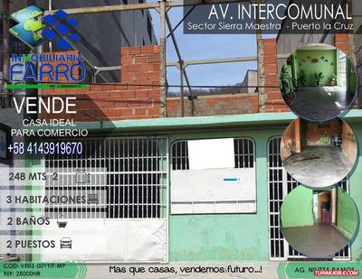 Venta De Casa En Puerto La Cruz Ve03-0011it-mp