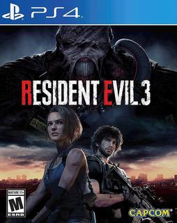 Resident Evil 3 Remake Ps4 Garantia De Por Vida