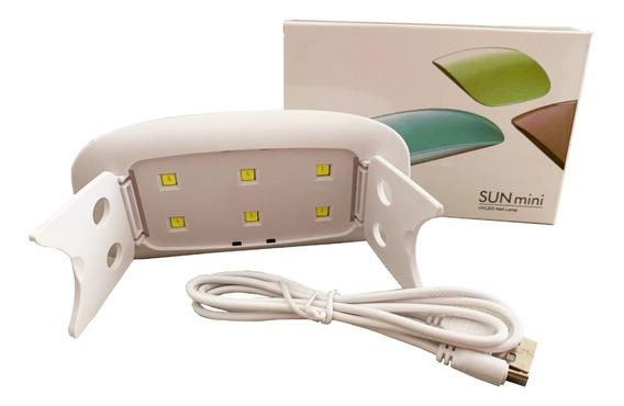 Cabina Uv Led Sun Mini 6w Uñas Gelific. Esmaltado Permanent