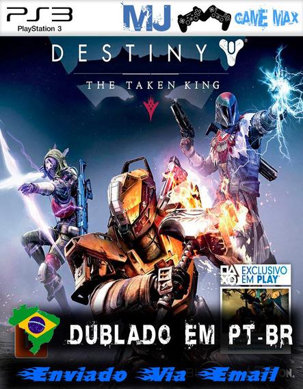 Destiny E O Rei Dos Possuídos + Dlcs Psn Ps3 Envio Gratis