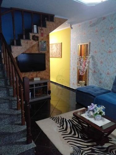 Sobrado Com 2 Dormitórios À Venda, 161 M² Por R$ 587.000 - Vila Scarpelli - Santo André/sp - So0164