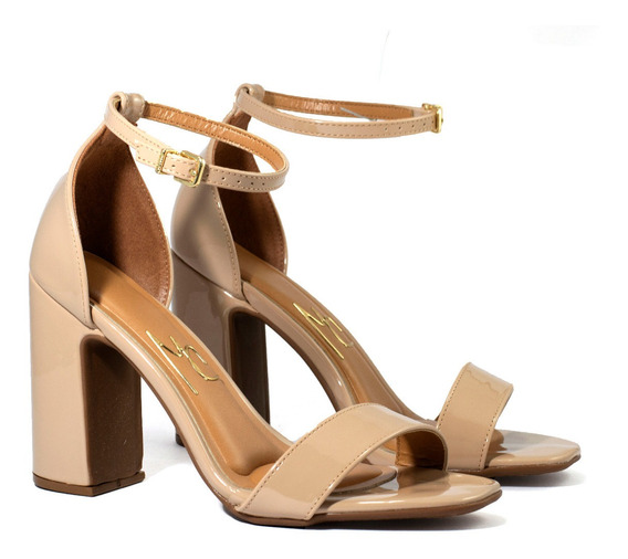 Zapatos Mujer Massimo Chiesa Sandalias Taco Medio By Vizzano