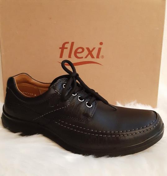 Zapato Flexi Caballero 68901/negro 26.5