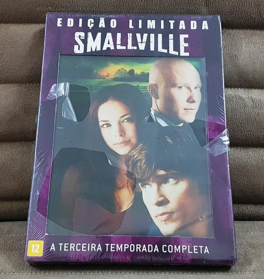 Dvd Smallville 3ª Temporada / Terceira ( 6 Discos ) Lacrado