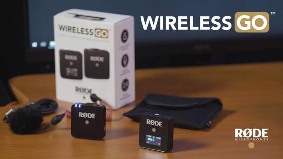 Rode Microfone Sem Fio Modelo Wireless Go Pronta Entrega