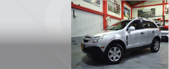 Chevrolet Captiva Sport At 2.4l 5p 4x2 Plata 2011