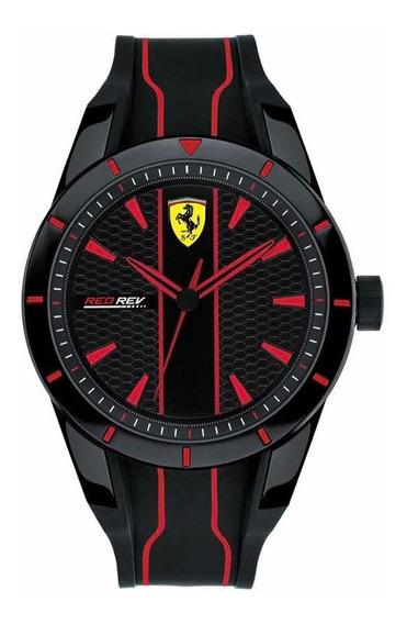 Reloj Ferrari 830481 Caballero Original Moderno Reloj Caucho