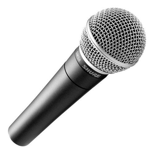 Microfono Shure Sm58 Profesional Dinámico Cardioide Voces