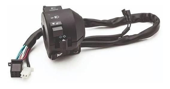 Punho De Luz Interruptor Esquerdo Botão Buzina Pisca Cb 300r