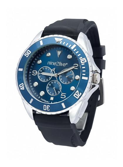 Reloj Original Caballero Marca Nine2five Modelo Amly08ngaz
