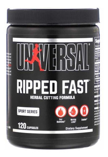 Ripped Fast, Universal Nutrition, 120 Cápsulas