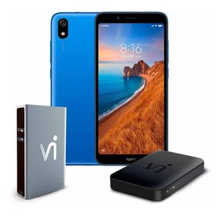 Phonestation Xiaomi Redmi 7a Azul, Tela 5.45 , 2gb+16gb