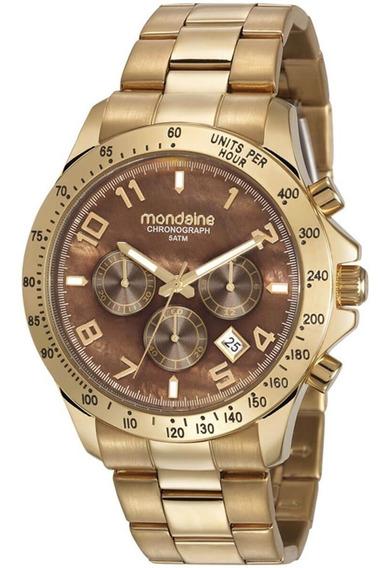 Relógio Feminino Mondaine 89011lpmvhe1 Dourado