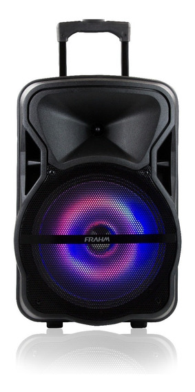 Caixa De Som Amplificada Multiuso Frahm Ativa Microfone Bt