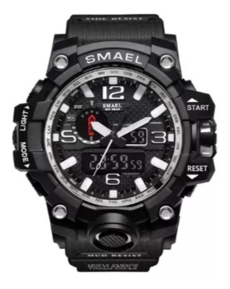 Relógio Militar Smael 1545 Shock À Prova D