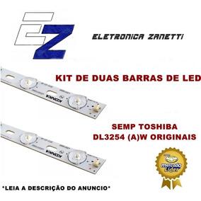 Kit De 2 Barras De Led Semp Dl3254(a)w Led32f3300c Original.