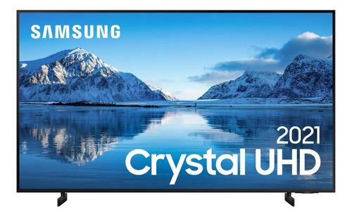 """Imagem 1 de 4 de Smart TV Samsung UN85AU8000GXZD LED 4K 85"""" 100V/240V"""