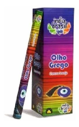 Incenso Indiano Índia Brasil Olho Grego 25cxs C/8 Varetas