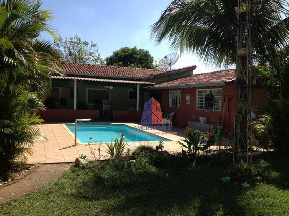 Chácara Com 2 Dormitórios À Venda, 1285 M² Por R$ 450.000,00 - Do Porto - Limeira/sp - Ch0034