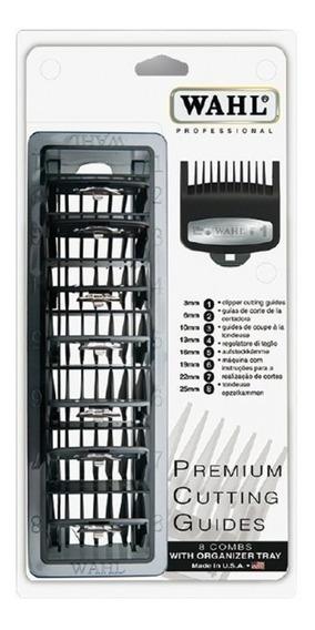 Kit Pentes De Altura Premium Metal Nº 1 Ao Nº 8 Wahl