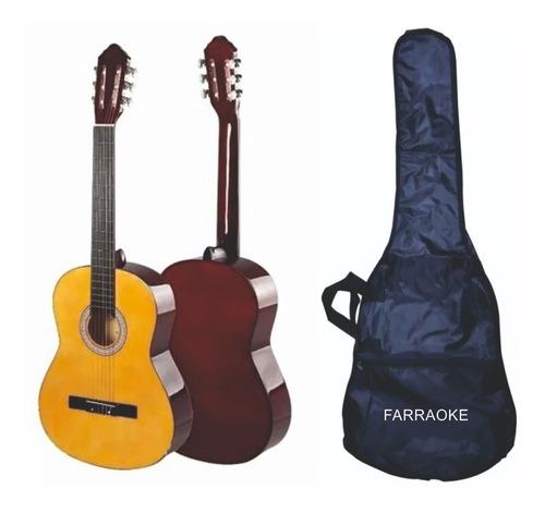 Guitarra Clasica Acustica  Incluye Forro Impermeable Vitela