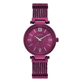 Relógio Feminino Guess 92580lpgdfa5 Analógico Roxo
