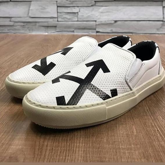 Slip On Off White Br Iate Frete Gratis Shoes +brinde