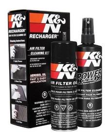 Kit Limpeza Kn Manutenção Squeeze Oil 99-5000 99-5050