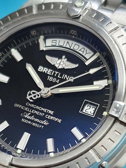 Breitling Headwind Day Date Extraordinário - 2 Pulseiras