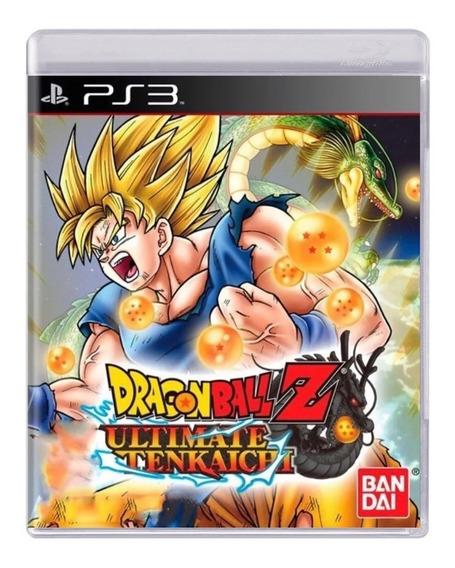 Jogo Dragon Ball Z Ultimate Tenkaichi - Ps3