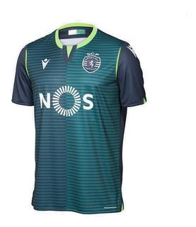 Camisa Sporting Lisboa 19/20 Unif. 2 - Pronta Entrega