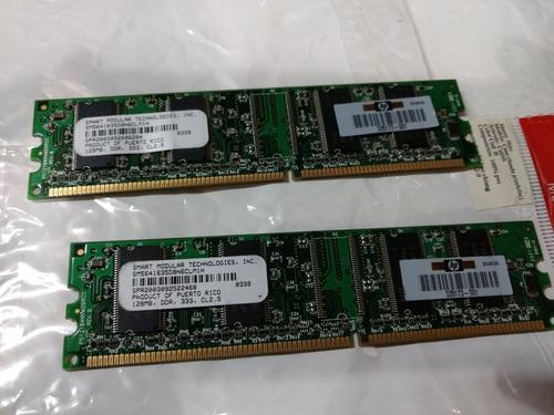 Memoria Ddr 128 Mb 333. Hp X 2 Unidades