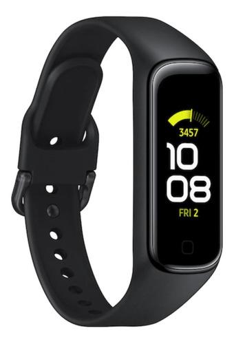 """Samsung Galaxy Fit2 (Bluetooth) 1.1"""" caja 46.6mm de  plástico  malla  black de  tpu y bisel  black SM-R220"""