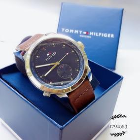 Relógio Tommy Hilfiger 1791553 Dourado Aço Inox Couro Marrom