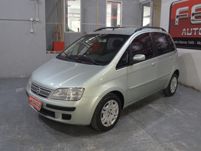 Fiat Idea Hlx 1.8 Mpi 8v Nafta 2006 5 Puertas Verde Claro