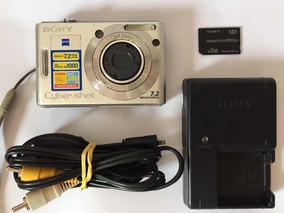Câmera Fotográfica Sony Cyber Shot Dsc-w35 7.2 Mp