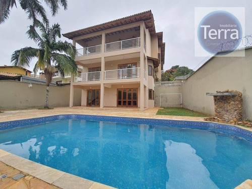 Imagem 1 de 30 de Casa Com 3 Dormitórios À Venda - Jardim Passárgada I - Granja Viana - Ca2414