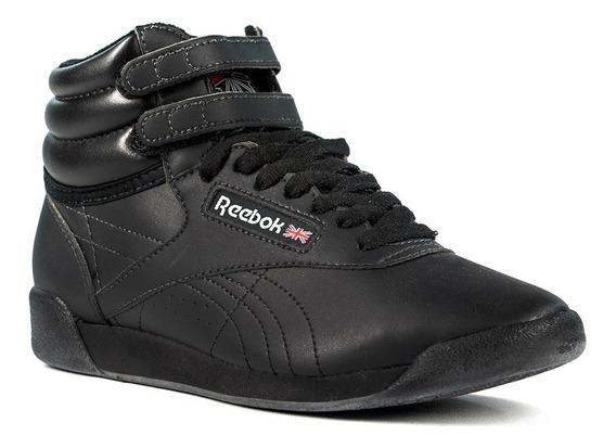 Zapatillas Reebok Freestyle Hi Classic Importada Cuero