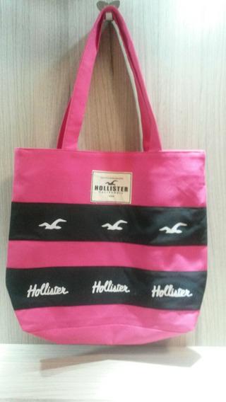 Bolsa Hollister Tecido