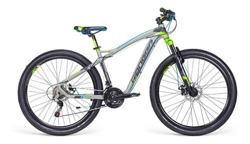 Imagen 1 de 2 de Mountain bike Mercurio MTB Recreación Ranger  2018 R27.5 color gris/verde con pie de apoyo