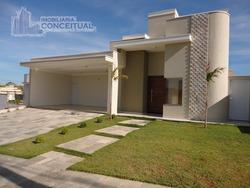 Casa Para Venda, 3 Dormitórios, Condominio Golden Park - Mirassol - 255