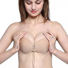 Bra Nubra Brasier Strapless Push Ups Invisible Full