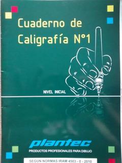 Cuaderno De Caligrafia Plantec No1 - Normas Iram Cuerpos Did
