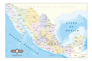 Mapa República Mexicana Escolar