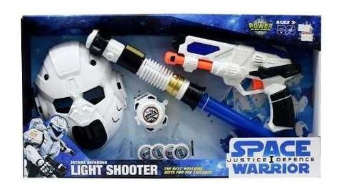 Equipo Especial Láser, Máscara, Pistola Con Luz Y Sonido