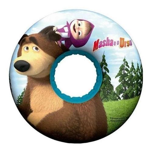 Imagem 1 de 3 de Boia Circular Infantil Masha E O Urso Multikids - Br974